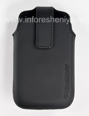 Original Leather Case with Clip for Leather Swivel Holster BlackBerry 9360/9370 Curve
