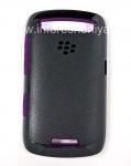 Original Case ruggedized Premium Skin für Blackberry Curve 9360/9370, Schwarz / Lila (schwarz / lila)