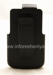 Branded Holster Seidio Holster superficie para corporativo cubierta Case Superficie Seidio para BlackBerry Curve 9360/9370, Negro (Negro)