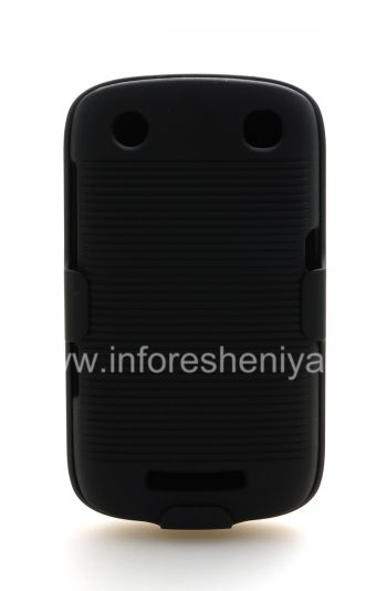Case Plastic + holster ngoba BlackBerry 9380 Ijika