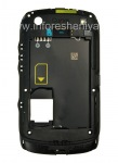 The middle part of the original case for the BlackBerry 9380 Curve, The black