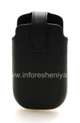 The original leather case with clip Leather Swivel Holster for BlackBerry Curve 9380, The black