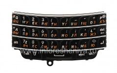 Russian keyboard BlackBerry 9790 Bold, The black