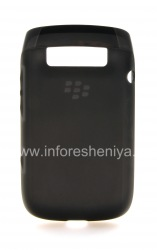 Original Silicone Case compacted Soft Shell Case for BlackBerry 9790 Bold, Black
