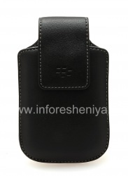 Original Leather Case Synthetic Leather Swivel Holster with clip for BlackBerry, Black