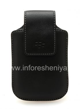 Buy Original Leather Case Synthetic Leather Swivel Holster with clip for BlackBerry