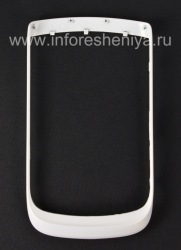 Color bezel for BlackBerry 9800/9810 Torch, Pearl White
