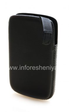 Buy Signature Leather Case-pocket with tongue Smartphone Experts Pocket Pouch for BlackBerry 9800/9810 Torch