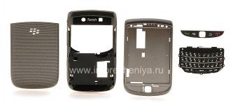 彩色柜BlackBerry 9800 / 9810 Torch, 灰色闪亮