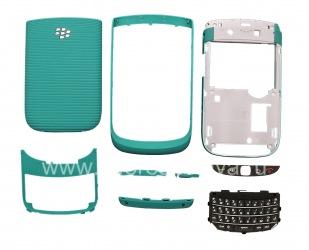 Color Case for BlackBerry 9800/9810 Torch, Turquoise Matt