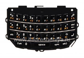 Russian keyboard BlackBerry 9800/9810 Torch, The black