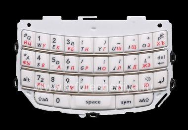 Buy White Russian keyboard BlackBerry 9800/9810 Torch