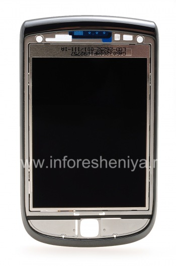 The original LCD screen assembly with a slider for BlackBerry 9800 Torch