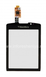 Touch-screen (touchscreen) for BlackBerry 9800/9810 Torch, The black