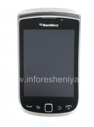 Original LCD screen to the full assembly for BlackBerry 9810 Torch, Silver, type 001/111