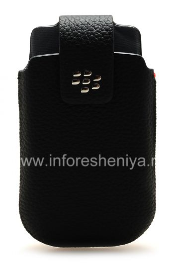 The original leather case with clip Leather Swivel Holster for BlackBerry