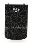"""Exclusive rear cover """"Ornament"""" for BlackBerry 9900/9930 Bold Touch, The black"""