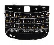 Ikhibhodi yoqobo yeBlackBerry 9900 / 9930 Bold Thinta (ezinye izilimi), Mnyama, i-arabic