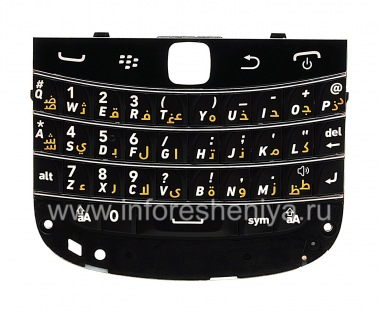 Buy Original keyboard for BlackBerry 9900 / 9930 Bold Touch (other languages)