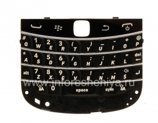 The original English keyboard for BlackBerry 9900/9930 Bold Touch, The black