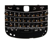 Russian keyboard BlackBerry 9900/9930 Bold Touch, The black
