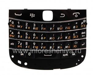 俄语键盘BlackBerry 9900 / 9930 Bold触摸, 黑