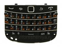 Russian ikhibhodi umhlangano webhodi isiqeshana sokuhambisa iminwe BlackBerry 9900 / 9930 Bold Touch, black