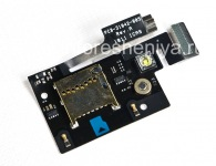 Memory card slot (Memory Card Slot) with a vibrator, and flash media microphone for BlackBerry 9900/9930 Bold