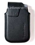 The original leather case with clip Leather Swivel Holster for BlackBerry 9900/9930/9720, The black