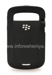 The original plastic cover, cover Hard Shell Case for BlackBerry 9900/9930 Bold Touch, Black