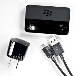 "Original desktop charger ""Glass"" Carging Pod Bundle for BlackBerry 9900/9930 Bold Touch, The black"