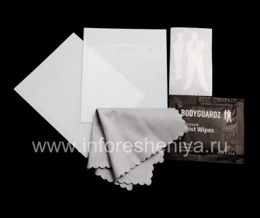 Buy Branded protective film for the screen Ultraprochnaya BodyGuardz UltraTough ScreenGuardz (2 pieces) for BlackBerry 9900/9930 Bold Touch