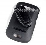 Corporate Case + belt clip Body Glove Flex Snap-On Case for BlackBerry 9900/9930 Bold Touch, The black