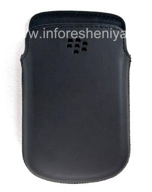 Buy The original leather case pocket-matte Leather Pocket for BlackBerry 9900/9930/9720