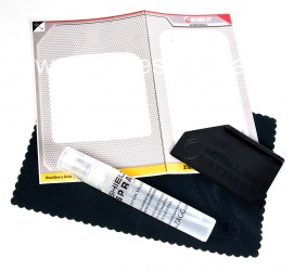 Branded protective film for the screen and cabinet ZAGG invisibleSHIELD for BlackBerry 9900/9930 Bold, Transparent