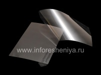 Transparent protective film for the screen for BlackBerry 9850/9860 Torch, Transparent