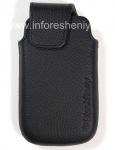 Original Leather Case-pocket Leather Pocket for BlackBerry 9850/9860 Torch, The black