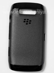 Original Case ruggedized Premium Skin for BlackBerry 9850/9860 Torch, Black/Black