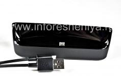 "Original desktop charger ""Glass"" Sync Pod Bundle for BlackBerry 9850/9860 Torch, The black"