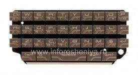 Russian keyboard BlackBerry P'9981 Porsche Design (engraving), Silver