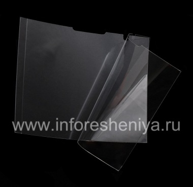 Buy Proprietary ultra-thin protective film for the screen Savvies Crystal-Clear for BlackBerry P'9981 Porsche Design