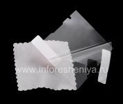 Transparent protective film for the screen for a BlackBerry P'9981 Porsche Design, Transparent
