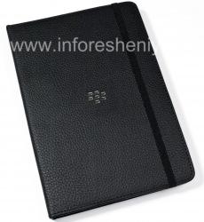 Original Leather Case Folder for Journal Case BlackBerry PlayBook, Black
