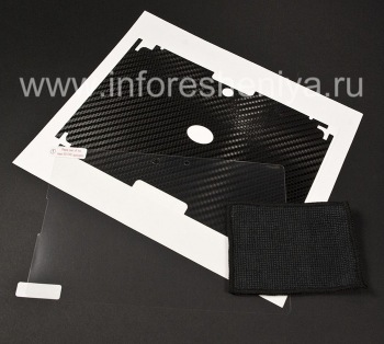 Corporate set of screen protectors and body BodyGuardz Armor for the BlackBerry PlayBook