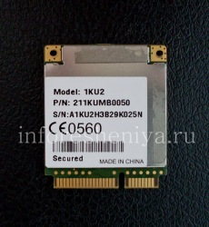 Communication module for BlackBerry PlayBook, Without color, for 3G-version