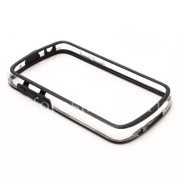 Silicone Case bumper-packed semi-transparent for BlackBerry Q10, The black