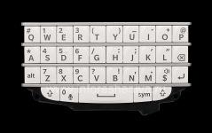 I original English Ikhibhodi BlackBerry Q10, white