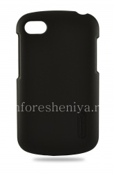 Corporate plastic cover, cover Nillkin Frosted Shield for BlackBerry Q10, The black
