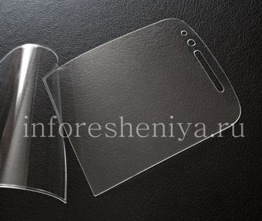 Buy Proprietary ultra-thin protective film for the screen Savvies Crystal-Clear for BlackBerry Q10