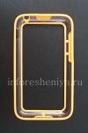 Photo 2 — Silicone Case-bumper seals for BlackBerry Q5 (translucent), Orange